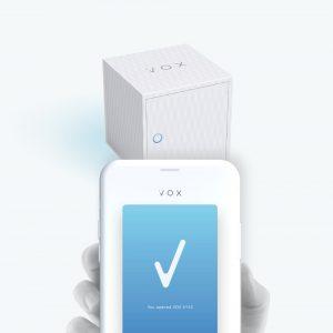 スマホ制御型宅配ボックス VOX